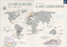 Risteillen maailman ympäri