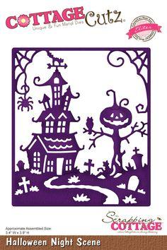 CottageCutz Halloween Night Scene (Elites)