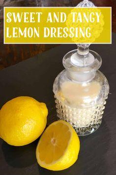 Lemon Salad Dressings, Lemon Vinaigrette, Vegan Gluten Free, Gluten Free Recipes, Vegan Vegetarian, Tangier, Salad Ingredients, My Recipes, Smoothies