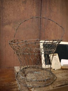 wire baskets are my favorites..        ****