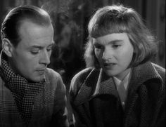 Fängelse (Prison) - Ingmar Bergman - 1949  Hasse Ekman, Eva Henning