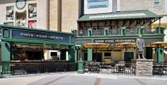 Nine Fine Irishmen Outdoor Patio #StartSpreadingTheNew