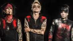Rock band Sixx AM talk about the protest songs on their new album, Prayers for the Damned.