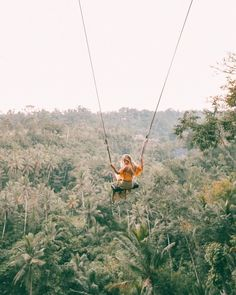 Morning Swing with Beautiful Greeny view in Paradise Photo @travel_inhershoes Ubud has a known history back to the eighth century when the Javanese Hindu priest Rsi Marhandya came to Bali from Java and meditated at the confluence of the two Wos rivers at Campuan just west of the modern day town centre. A shrine was established and later expanded by Nirartha the Javanese priest who is regarded as the founder of Bali's religious practices and rituals as we know them today. At this time the…