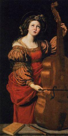 St Cecilia DOMENICHINO