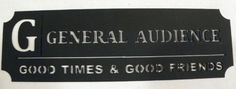 General Audience Ticket Good Times Good Friends Home Theater Decor ** Find out more about the great product at the image link-affiliate link. #WallSculptures