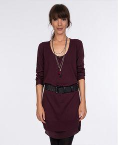 Plain dress. | Dresses | Comptoir des Cotonniers