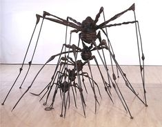 Louise Bourgeois, The Nest, 1994. Sculpture | steel. 101 in. x 189 in. x 158 in.