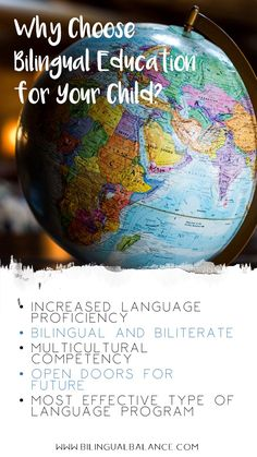 Five powerful reasons you should consider bilingual education for your child plus valuable resources to help you support your child's language learning at home.