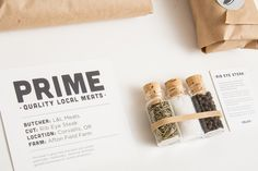 Prime Quality Meats - Layla Hubbard » Graphic Designer