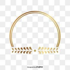 Golden circle frame leaf shape PNG and Vector Frame Floral, Flower Frame, Feuille D'or Rose, Framed Leaves, Image Clipart, Photo Frame Design, Creative Circle, Glitter Frame, Design Floral