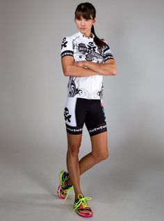 Tattoo Cycle Jersey - Betty Designs - Betty Designs