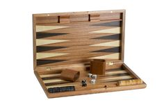 "The Game Supply - 19"" Fancy Wooden Backgammon Set, $74.95 (http://www.thegamesupply.com/19-fancy-wooden-backgammon-set/) http://www.thegamesupply.com/backgammon-game-sets/ #backgammonboardgames #backgammongames"