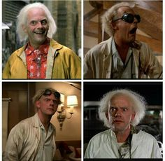 Doc Brown Throughout Time