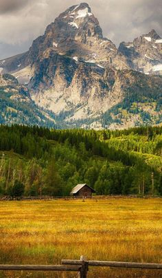 Grand Teton National Park, Wyoming - by Teja Pamganamamula Grand Teton National Park, National Parks, Beautiful World, Beautiful Places, Nature Landscape, Nature Scenes, Nature Pictures, Beautiful Landscapes, Places To See
