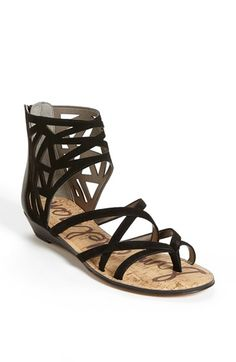 Sam Edelman 'Dana' Leather Sandal available at #Nordstrom