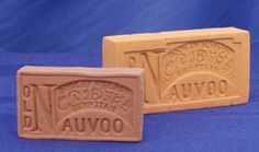 Old Nauvoo Bricks. You get one when you tour the brick yard in the historic area of Nauvoo, Illinois
