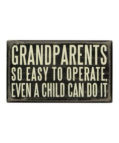 Grandparents Wall Sign #quote #grandparents
