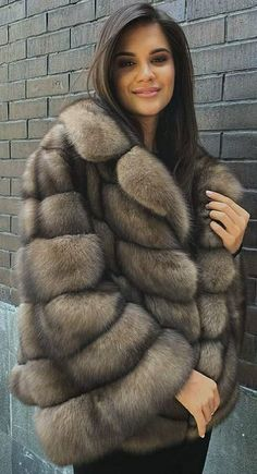 Sable Fur Coat, Fox Fur Coat, Fur Coats, Chinchilla, Fur Fashion, Womens Fashion, Coats For Women, Clothes For Women, Fabulous Furs