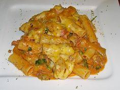 Rigatoni al forno (Rezept mit Bild) von Cpt_Big_Tony | Chefkoch.de