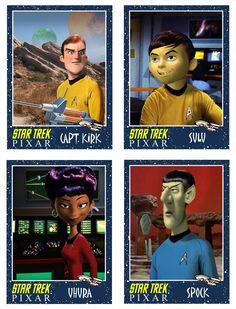 If Pixar Made The Original Star Trek Characters
