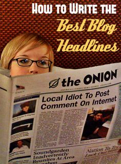 How to Write the Best Blog Headlines – Tips and Tricks #bloggingtips #blogging #contentmarketing