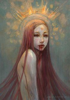 hush by aditya777.deviantart.com on @deviantART #digital #art