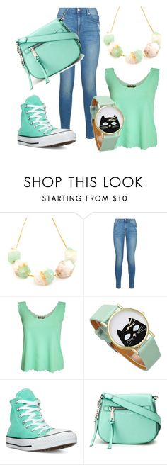 """""""Style this trending item #2"""" by princessqtpi ❤ liked on Polyvore featuring Salome, 7 For All Mankind, Pilot, Converse and Marc Jacobs"""