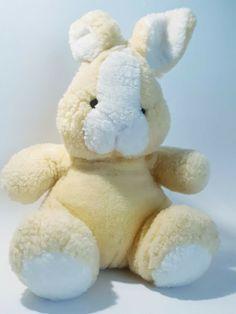 yellow rabbit bunny plushy stuffed animal, used in VGC #Unbranded Plushies, Rabbit, Bunny, Teddy Bear, Yellow, Animals, Ebay, Rabbits, Cute Bunny