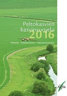 Kuvaus: Peltokasvien kasvinsuojelu 2016 -kirjassa esitetään viljelykasveittain peltokasvien, avomaan vihannesten ja mansikan rikkakasvien, kasvitautien ja tuholaisten torjuntaan vuonna 2016 markkinoilla olevat kasvinsuojeluaineet, niiden käyttösuositukset ja keskimääräiset ainekustannukset hehtaaria kohti.