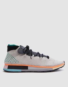 best service 50c70 d408d Adidas x Alexander Wang  AW Run Mid in Light Grey