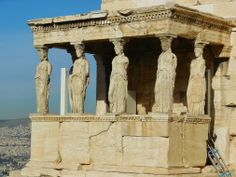 Porch of the Maidens at the Erechtheion, Acropolis