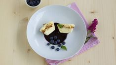 Dessertteller. Sorbet, Pancakes, Pudding, Sweets, Breakfast, Desserts, Food, Dessert Ideas, Food Food