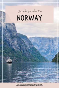 Norway is one of the best destinations. From Bergen to the Lofoten Islands there is so much to see! Click here for a quick guide to Norway! #norway #norwaytravel #bergen #scandinavian #travel