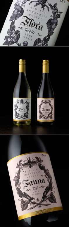 Chad Michael Studio Designs Flora & Fauna Wine With Exquisite Detail — The Dieline | Packaging & Branding Design & Innovation News