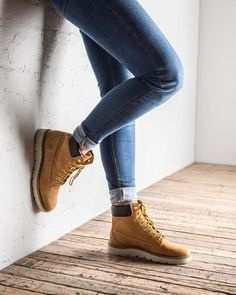 The Kenniston gives our Classics a makeover with a feminine twist and a sneaker sole. #Timberland #ModernTrail