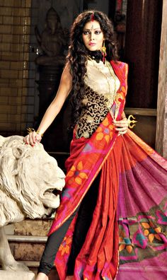 ByLoom Saree with Resham Pallu - MinMit Clothing Byloom Sarees, Saris, Latest Indian Saree, Indian Sarees, Latest Clothing Trends, Handloom Saree, Indian Fashion, Product Description, Indian Style