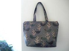zipper tote bag large zipper tote beach bag zipper by malmokkobags, $37.00