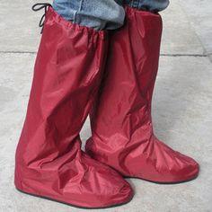 Shoes cover rain gear waterproof rainproof household wear-resistant motorcycle mens womens male womens jj