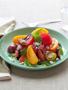 Watermelon & Tomato Salad