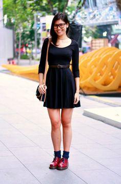 High Neck Sleeveless Black Dress | dream closet | Pinterest | ASOS