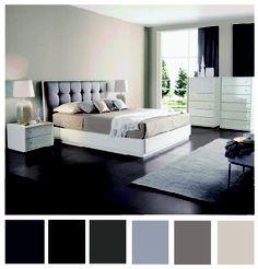 Nuestra cama Cotton y esta linda paleta de colores, crean un ambiente femenino y delicado.