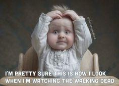 viendo walking dead