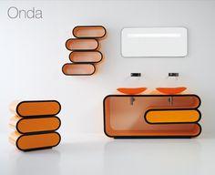 Onda Bathroom Vanity By Bandini #furniture #bathroom