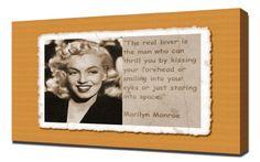 Marilyn Monroe Quotes 4 - Canvas Art Print Pingoo Prints http://www.amazon.com/dp/B00IIVPWXI/ref=cm_sw_r_pi_dp_q614ub1XNJG91