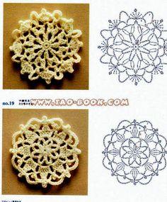 Tecendo Artes em Crochet: Encomenda Concluída e Entregue - Motivos para apliques!