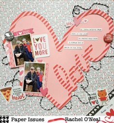 Paper Issues: Product Spotlight: Pebbles My Funny Valentine @racheloneal