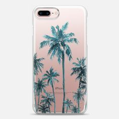 Casetify iPhone 7 Plus Case and iPhone 7 Cases. Other Neom Palms iPhone Covers - Palm Fam by Sharon Juan | Casetify