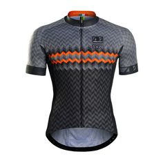 2016 PERF Red Fire Men's Cycling Jersey