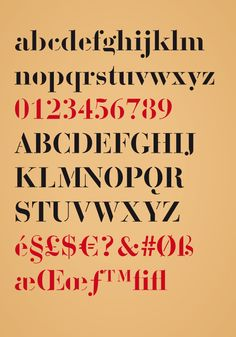 giambattista - caractère typographique pour titrage - 2010